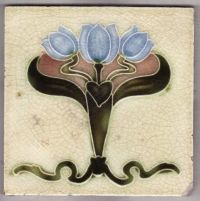 Victorian Antique Ceramic Tile | Ceramic Tiles | Pinterest ...