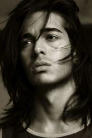 long haired men. gorgeous