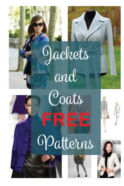 Jacket Patterns Free : jacket, patterns, Jackets, Coats, Patterns, Handmade, Space