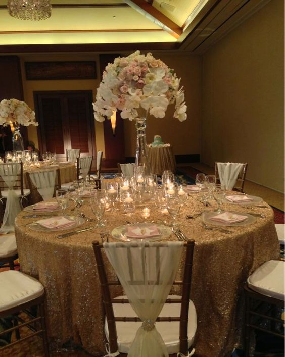 wedding chair covers lilac personalized chairs for kids an elegant reception in champagne, gold, blush pink, and cream. | ♥♥♥gold ...