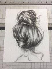 hair drawing and draw