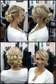 military ball hair styles