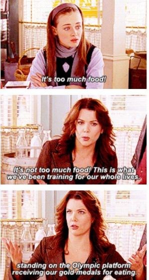 "And there you have it. You are officially ready to feast! | Community Post: A Guide To Hosting The Ultimate ""Gilmore Girls"" Thanksgiving:"