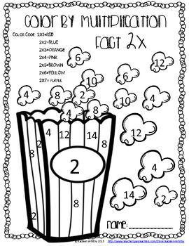 Multiplication facts, Multiplication and Facts on Pinterest