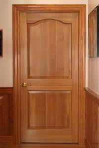 Quarter Sawn White Oak Classique style bedroom door with 3 ...