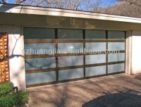 Anodized Aluminum Frame Glass Garage Door Prices Lowes ...