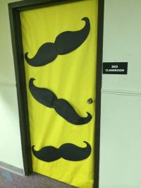 Mustache doors for Agency D3 VBS! | Spy Theme VBS ...