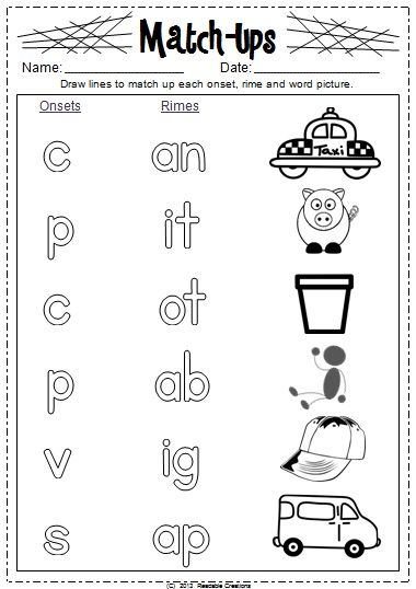 Literacy skills, Word families and Literacy on Pinterest