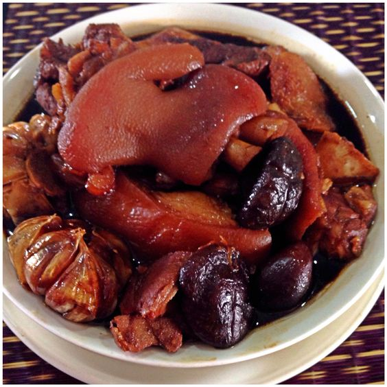 Braised pork Chinese style and Chinese on Pinterest
