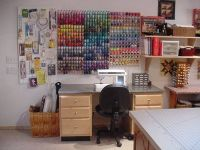 Crafts, Craft rooms and Thread storage on Pinterest