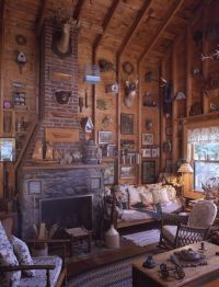 Rustic cabins, Rustic cabin decor and Cabin on Pinterest