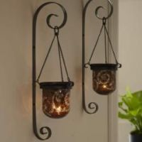 Amaretto Swirl Wall Sconce Pair by PartyLite Candles ...