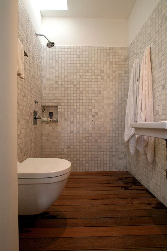 Mosaic tiles Toilets and What i want on Pinterest