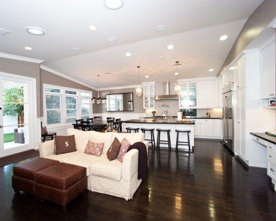 Five beautiful open kitchen interior designs  The floor