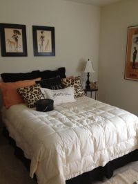 Decorating ideas for Bedroom with paris and leopard print ...