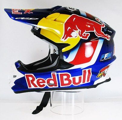 Red Bull Motocross Helmetriding Gear