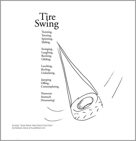 Children poems, Tire swings and 3rd grade reading on Pinterest
