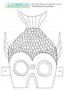 Masks, Fish and Carnivals on Pinterest