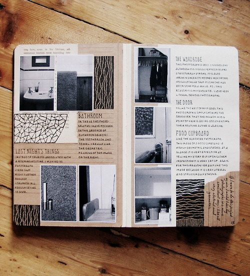 Perfectly Organized Journaling Inspiration- I like photos and journaling together.: