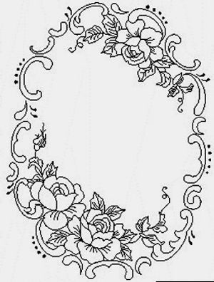 Floral embroidery patterns, Embroidery and Floral