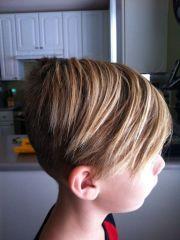 boys skater cut hair