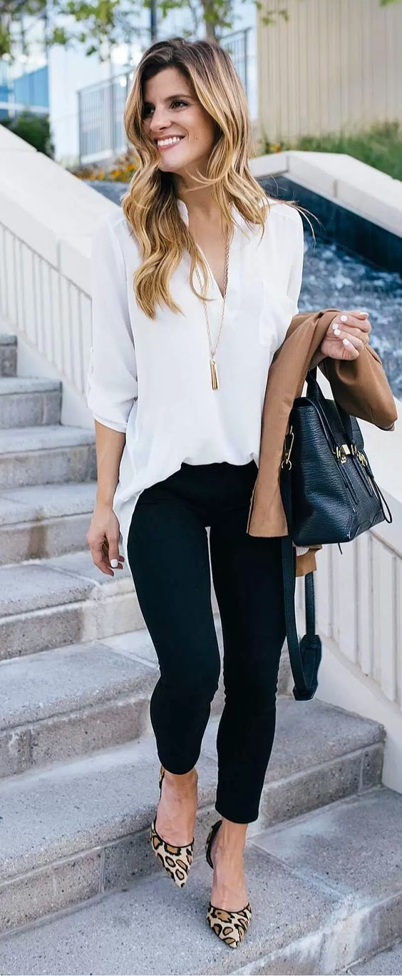 business casual outfit // fall business casual outfit idea // transitional office wear //: