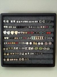 Creative, Earrings and Storage on Pinterest