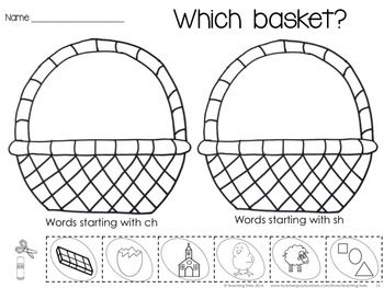 Easter Activities: Easter Math and Language Activities for