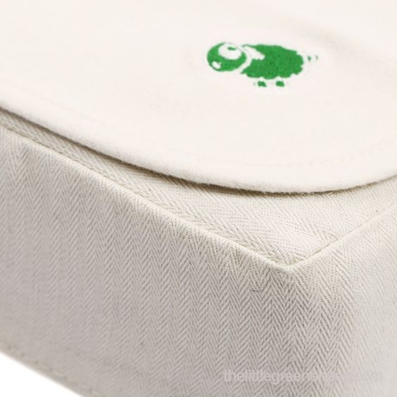 Organic Cot Waterproof Mattress Protector 60x120cm Protectors From The Little Green Sheep