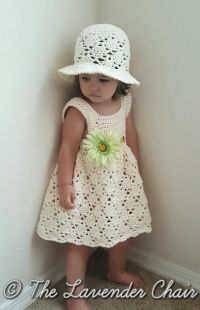 Vintage Toddler Dress and Hat - Free Crochet Pattern - The ...