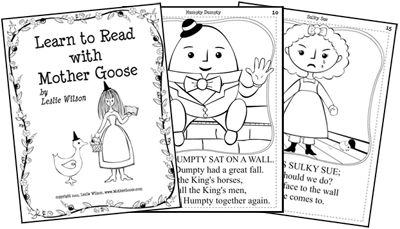 Do you like Mother Goose? Learn to Read with Mother Goose