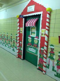 Classroom door decoration for December | Classroom Help ...