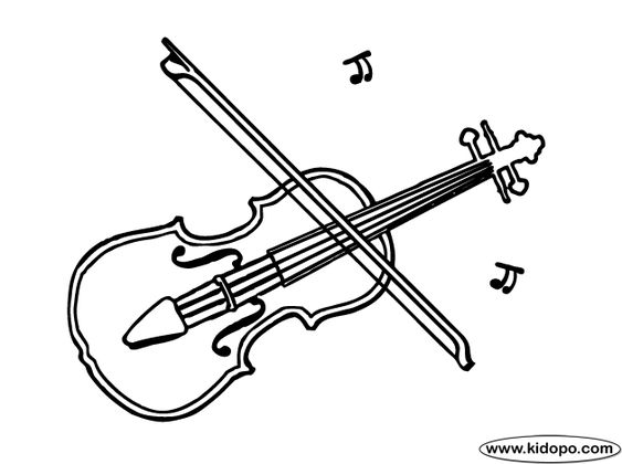 Coloring, Coloring pages and Violin on Pinterest