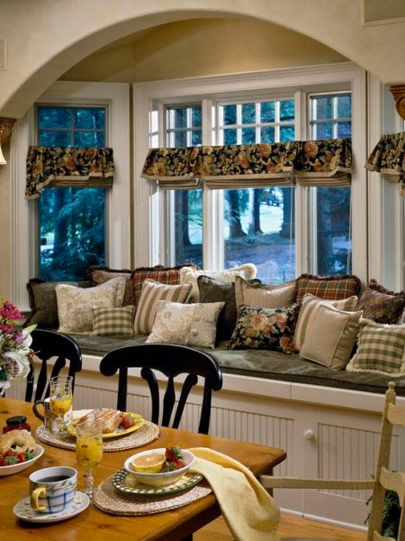 french country kitchen window French Country Living Room Design, Pictures, Remodel
