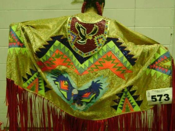 Native dance shawl
