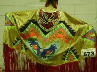 Native dance shawl | Native American Beadwork | Pinterest ...