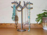 Horseshoe Jewelry Rack, Jewelry Holder, Jewelry Organizer ...
