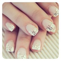 winter sparkle nails | nail designs | Pinterest | Sparkle ...