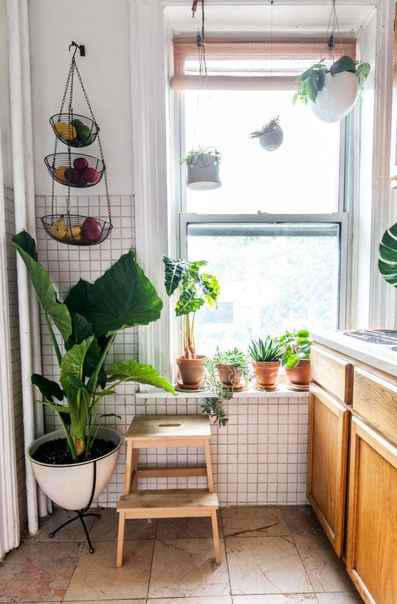 A Plant Designer and DJ's Easy-Going Brownstone | Design*Sponge: