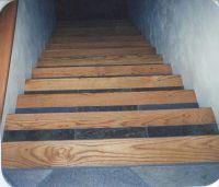 Red oak, Slate tiles and Custom wood on Pinterest