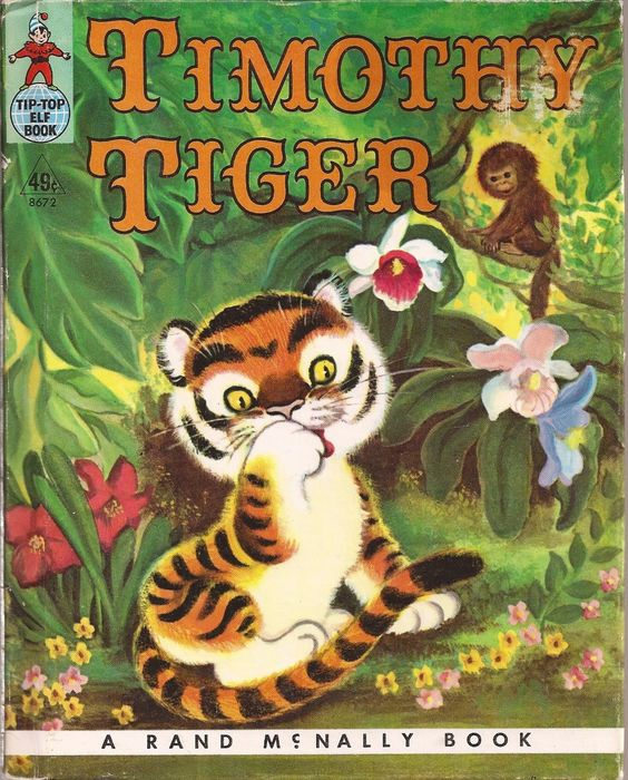 39Timothy Tiger39 TipTop Elf Book 1959 eBay Book