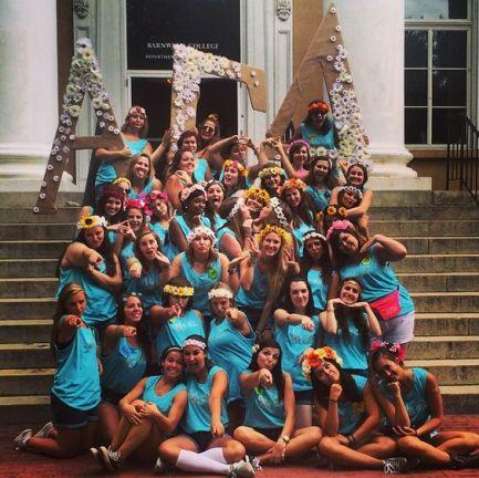 sorority recruitment at University of South Carolina!
