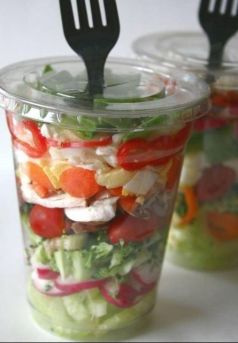 salad cup for kids lunch