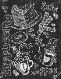 Wall Art Kitchen Chalkboard Chalkboard by ...