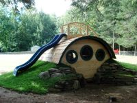 """""""Woodshire"""" Hobbit Hole Playhouse - outdoor playsets ..."""