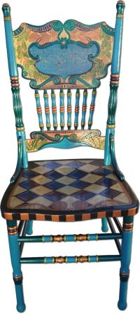whimsical painted furniture | Whimsical Hand Painted Art ...