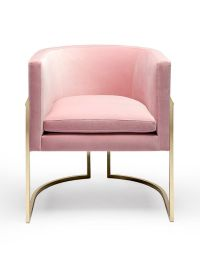 Feminine decor, Pink chairs and Chair design on Pinterest