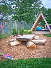 discovery table at Lakeshore Daycare Natural Playground ...