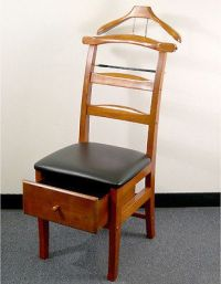 Valet Chair Mens Suit Hangers Executive Butler Stand ...