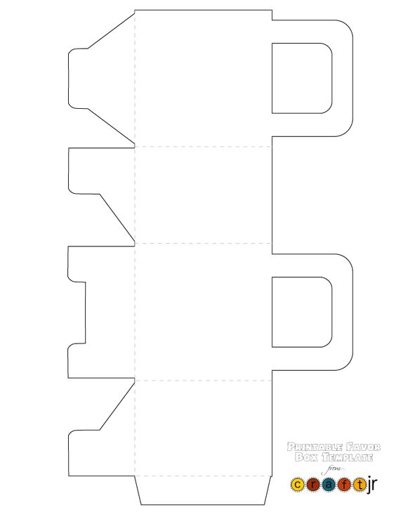 Box templates, Favor boxes and Box template printable on